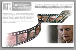 Barrie Gower FX : MakeUp Effect for Film and Television