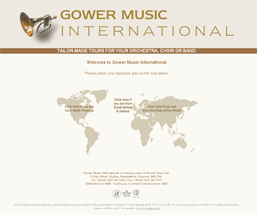 Gower Music International : Tailor Made Tours for the Orchestra, Choir or Band.