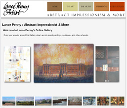 Lance Penny : Abstract Impressionist and More