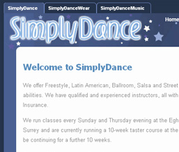 Simply Dance : Live to Dance, Dance to Live