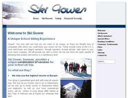 Ski Gower: Unique School Skiing Experience
