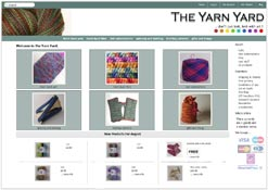 Hand-dyed yarns and fibres